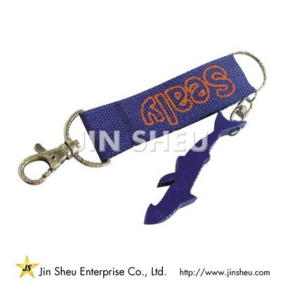Carabiner Lanyards with Openers