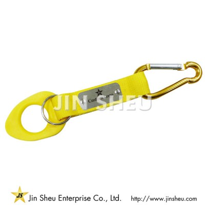 Carabiner Lanyards with Bottle Holders