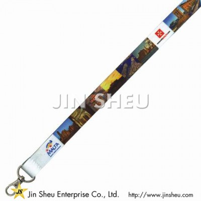 Dye Sublimation Printed Lanyards - Dye Sublimation Printed Lanyards