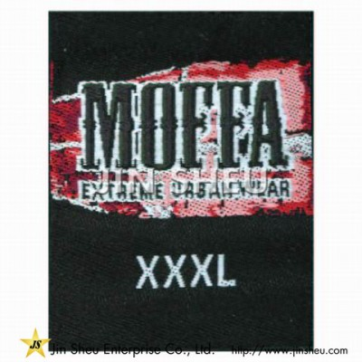 Personalized Woven Clothing Label