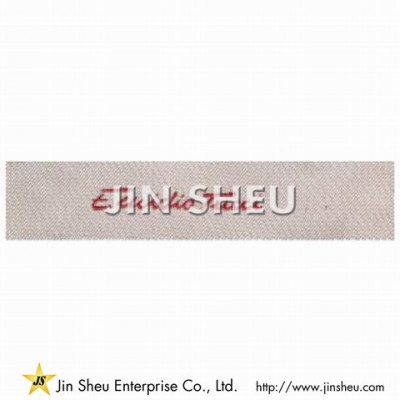 Promotional Woven Clothing Label