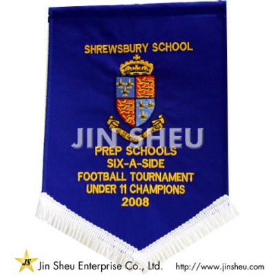 Personalized Flag Pennants