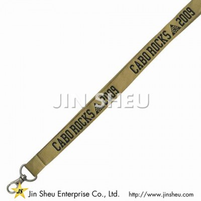 Woven Polyester Lanyards