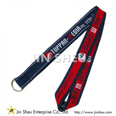 Woven Lanyard Keychains