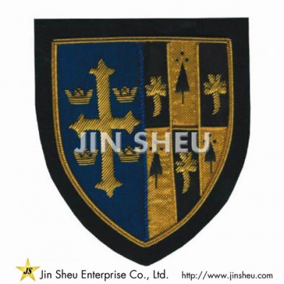 Embroidery Bullion Patch Supplier - Embroidery Bullion Patch Supplier