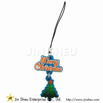 Christmas Promotion Gift Cell Phone Strap