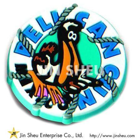 Soft PVC Lapel Pin Badges - Soft PVC Lapel Pin Badges