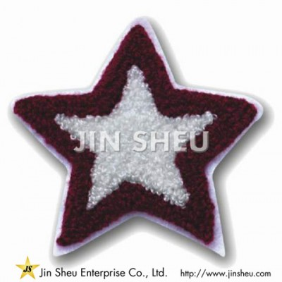 Embroidered Star Patches - Embroidered Star Patches