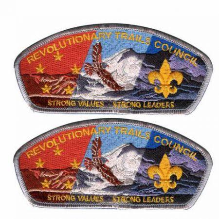 Boy Scout Uniform Patches