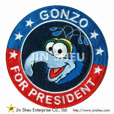 Gonzo Embroidery Patches
