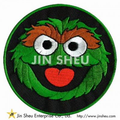 Sesame Street Embroidery Patches