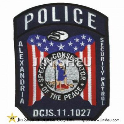 Embroidery USA Police Badges