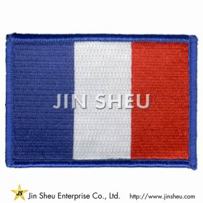 France Iron On Patch