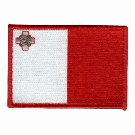 Malta Flag Patches