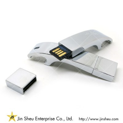 Bottle Opener USB Flash Drive - A data storage device that includes flash memory with an integrated USB interface.