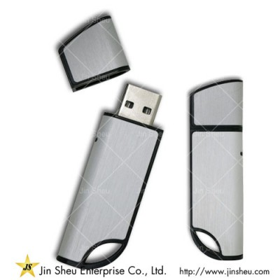 Modern USB Flashdrive - A data storage device that includes flash memory with an integrated USB interface.