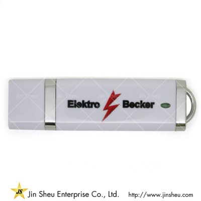 USB Memory Stick - A data storage device that includes flash memory with an integrated USB interface.