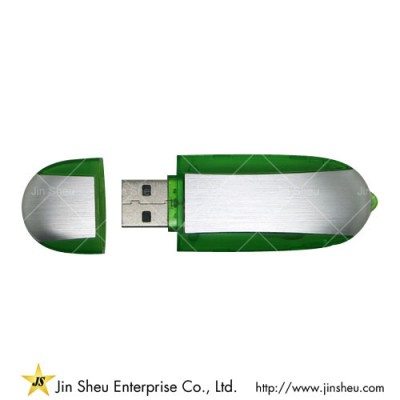 Custom Made Wireless Storage - A data storage device that includes flash memory with an integrated USB interface.