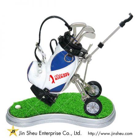 Mini Golf Bag Pen Holder - mini golf bag trolley pen holder