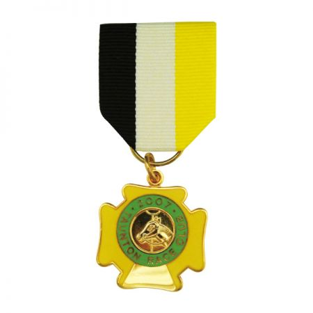 Chest Medal with Drape - Jin Sheu has always been really proud of our military medals and badges because they are the best representing products for us to outshine our competitors.