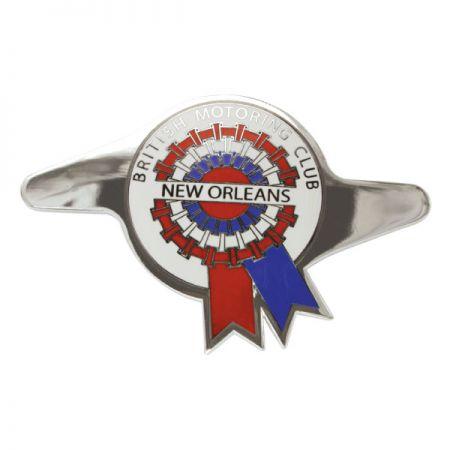 Silver Auto Emblems