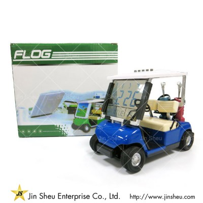 Mini Golf Buggy Cart with LCD Clock - Golf Buggy Cart with Clock