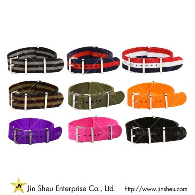 Nylon Watch Straps - wide range of watch belts