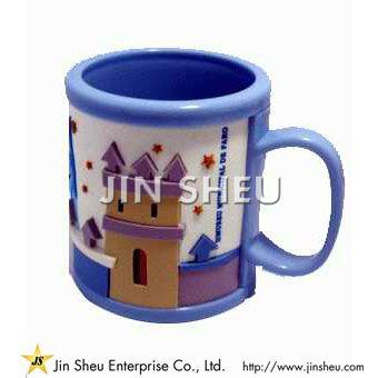 Custom Made Rubber Mug for Kids