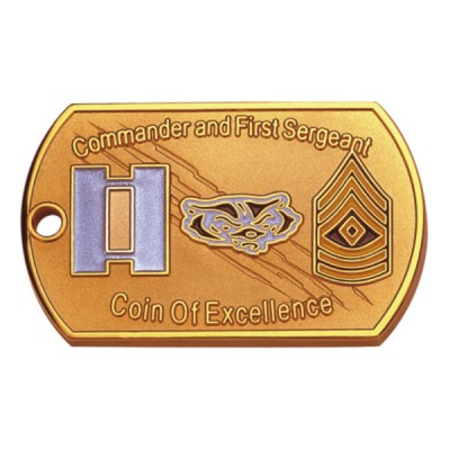 Custom Dog Tag Challenge Coins - Custom Dog Tag Challenge coins