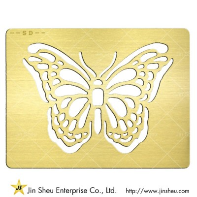 Gold Metal Invitation Card - Gold Metal Invitation Card