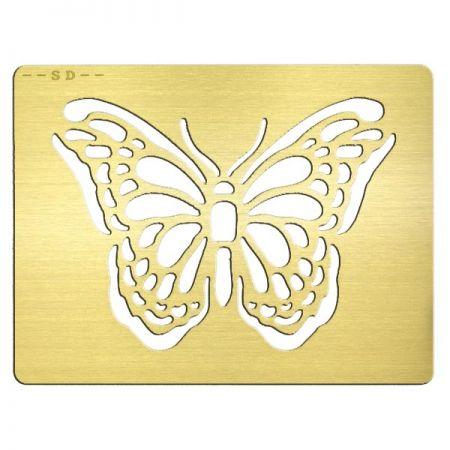 Gold Metal Invitation Card - Gold Metal Invitation Card