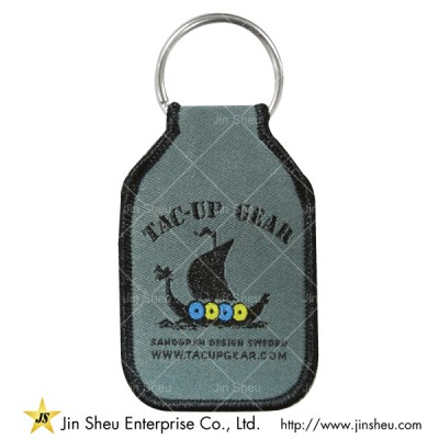 Promotional Woven Key Tags