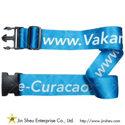 Nylon Luggage Belt With Silkscreen Printing - Nylon Luggage Belt With Silkscreen Printing