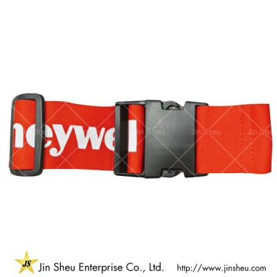 Travel Luggage Belts With Silkscreen Printing - Travel Luggage Belts With Silkscreen Printing