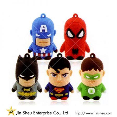 Marvel Series Superhero USB Flash Drive - Marvel Series Superhero USB Flash Drive