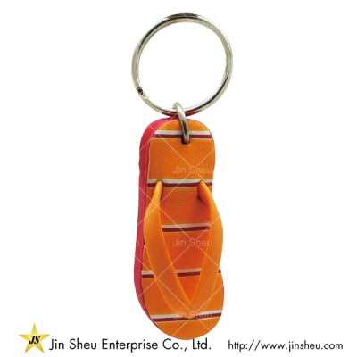 EVA Key Ring With Custom Design - EVA Key Ring With Custom Design