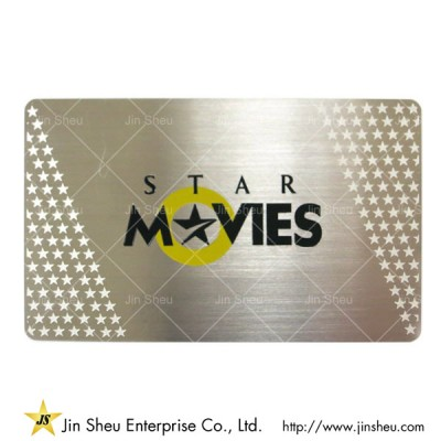 Stainless Steel Business Metal Card - Stainless Steel Business Metal Card