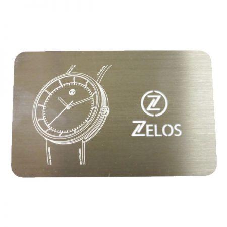 Quality Metal Warranty Card - Quality Metal Warranty Card