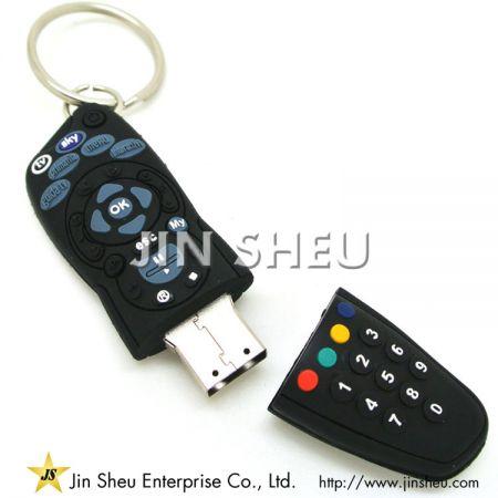 Remote Designed PVC USB Flash Drive - Remote Designed PVC USB Flash Drive