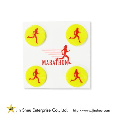 Marathon Race Bib Clips - Marathon Race Bib Clips