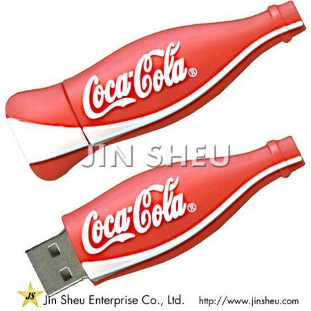 Coke Bottle Designed USB Flash Drive - Coke Bottle Designed USB Flash Drive