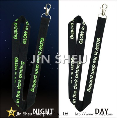 Promotional Glow in the Dark Lanyards