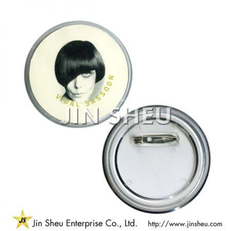 Custom Printed Acrylic Pin - Custom Printed Acrylic Pin