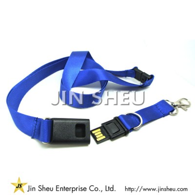 Personalized USB Lanyards