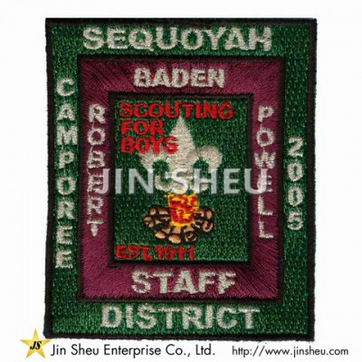 Customized Boy Scout Patches