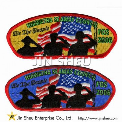 Personalized Boy Scout Patches