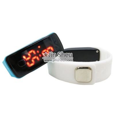 LED Silicone Band Digital Watch - LED Silicone Band Digital Watch