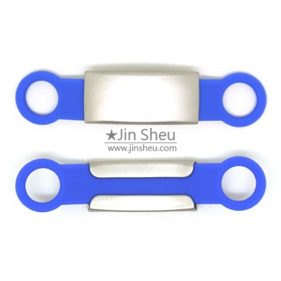 Pet Collar Silicone ID Bands - Silicone ID Tags for Small Collars