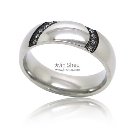 stainless steel jewelry rings