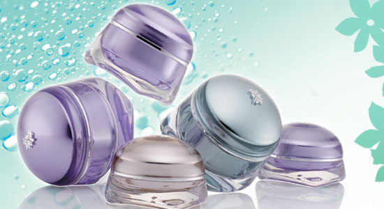 cosmetics container Jellyfish series